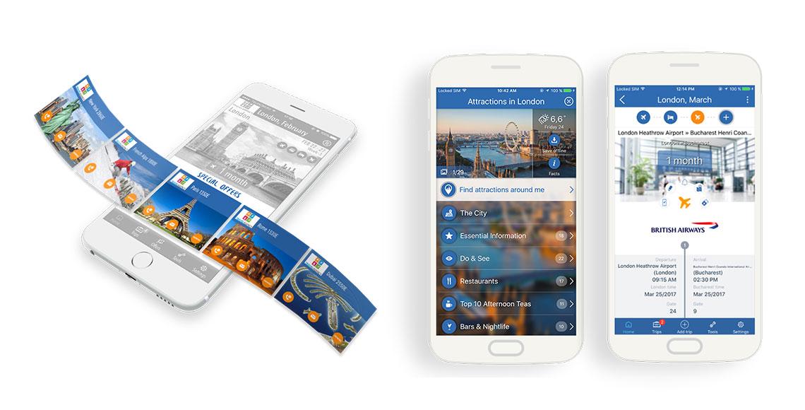 Travlist Mobile App Features